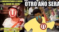 Los mejores memes de la derrota de Universitario.