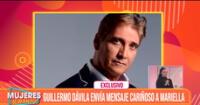 Guillermo Dávila envía emotivo mensaje a Mariella Zanetti: