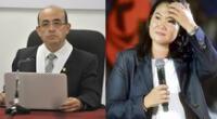 Juez Víctor Zúñiga Urday continuará con el caso de Keiko Fujimori y Fuerza Popular