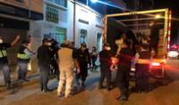 Intervenidos fueron llevados a la comisaría