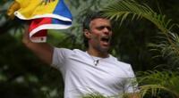 Leopoldo López llegó al Perú el último sábado para liderar un conversatorio sobre la democracia.