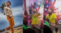Zumba anima show infantil sin respetar distanciamiento social
