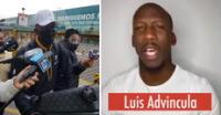 Luis Advíncula llegó al país y evitó declarar sobre video en el cual muestra su apoyo a Keiko.