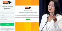 Bono Populista: sitio web parodia subsidios ofrecidos por Keiko Fujimori y causa furor en Internet .
