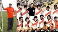 Otorino Sartor, destacado portero de la selección peruana, falleció este miércoles.