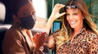 Janick Maceta hace un tour junto a Jessica Newton por su antiguo barrio de SJL [VIDEO]