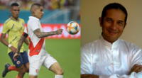 Perú enfrenta a Colombia esta noche y Reinaldo Dos Santos da su predicción.