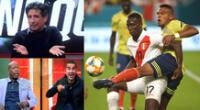 Prensa extranjera analiza el Perú vs Colombia por las Eliminatorias Qatar 2022.