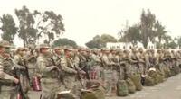 Militares garantizarán la seguridad durante las elecciones.