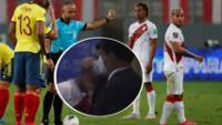 Miguel Trauco: así fue el desconsolado llanto del jugador tras ser expulsado en el Perú -Colombia.