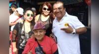 Manolo Rojas siempre apoyó a sus amigo, con quien se inició en la comicidad.