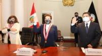 Poder Judicial, Ministerio Público y el MINJUS forman equipo para la lucha contra la corrupción y crimen organizado