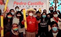 Pedro Castillo se reunió con jóvenes ambientalistas, feministas, LGTBI y más.