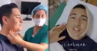 Pedro Loli sorprende a sus seguidores tras realizarse lipopapada [VIDEO]