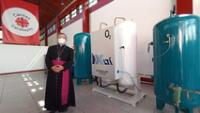 inauguran planta de oxígeno en Independencia