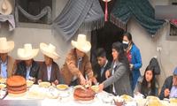 Pedro Castillo inicia el desayuno electoral desde Cajamarca