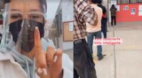 """Angie Arizaga tras votar en la segunda vuelta: """"Con los nervios de punta"""" [VIDEO]"""