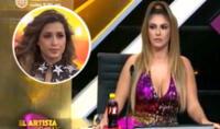 Tilsa Lozano quedó disconforme con la actuación de Milett Figueroa. Foto: Captura América TV.