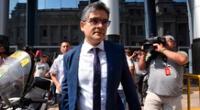 Domingo Pérez señaló que el próximo presidente de la República debe garantizar el respeto al sistema de justicia.