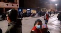Gran cantidad de trabajadores del organismo electoral esperaron hasta altas horas de la noche para entregar los primeros resultados de la segunda vuelta electoral.