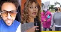 """Gisela Valcárcel se pone a la defensiva con la prensa y Rodrigo Gonzales le dice: """"Ahí está su verdadera cara"""""""