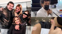 Jessica Newton reveló emocionada que su hija y su esposo viajaron a Miami, y fueron inoculados contra el coronavirus en el aeropuerto.