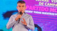 Julio Guzmán alcanzó el 2.26 % de votos en la primera vuelta de las Elecciones Generales 2021.