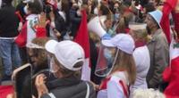 Simpatizantes de ambos partidos realizarán marchas este miércoles en el Centro de Lima.