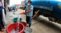 Sedapal anuncia corte de agua HOY 9 de junio