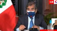 Ministro de Salud Oscar Ugarte confirmó el primer caso de la variante identificada en la India en territorio peruano.