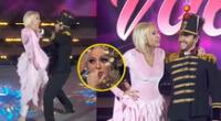 Laura Bozzo se disfraza de princesa para bailar 'Tiempo de vals' en concurso, pero todo salió mal.