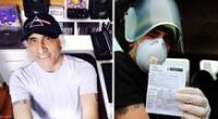 """Daniel F celebró haber sido vacunado contra la COVID-19: """"A seguir apostando por la vida"""""""