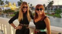 Jessica Newton reveló cómo nació su cercanía con Magaly Medina y mostró nuevamente cuánto la quiere en sus redes sociales.