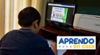 Conoce AQUÍ la programación de hoy jueves 10 de junio de Aprendo en casa