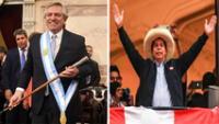 """Asimismo, añadió que """"celebro que el querido pueblo peruano enfrente el futuro en democracia y con solidez institucional""""."""