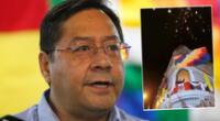 Presidente de Bolivia felicita a Pedro Castillo a través de un video en sus redes sociales.
