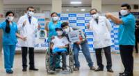 Es el primer caso exitoso realizado en Perú  y parte de las 21 cirugías practicadas en la última década a nivel mundial
