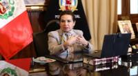Presidenta del Poder Judicial Elvia Barrios declaró sobre habeas corpus de Vladimir Cerrón