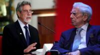 Francisco Sagasti habló con Mario Vargas Llosa, al ser allegado de Fuerza Popular.