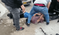 Detenidos se preparaban para asaltar y robar en entidad financiera Mi Banco.