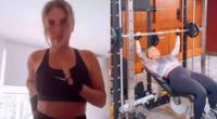 La conductora Johanna San Miguel demuestra que una amante del ejercicio para verse mucho mejor.
