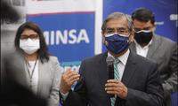 Ministro Óscar Ugarte recordó que el Perú tiene 60 millones de vacunas aseguradas.
