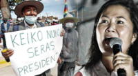 En Chupa, comuneros salieron a protestas con su DNI para demostrar que muchos llevan el mismo apellido y no están acostumbrados a cometer fraude.