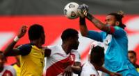 Pedro Gallese confía en una buena campaña de Perú en la Copa América 2021.