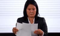 Pedidos de nulidad por el partido de Keiko Fujimori son improcedentes