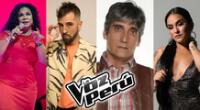 La Voz Perú 2021: conoce al jurado de lujo del programa de canto