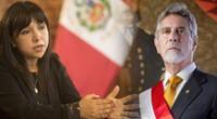 Presidenta del Congreso, Mirtha Vásquez, llamó a la calma y dar seguridad al país.