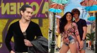 Giuseppe Benignini llegó a América Hoy para participar de su reality de baile y sorprendió al referirse a su expareja, Michelle Soifer.