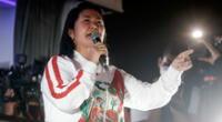Keiko Fujimori insiste en desconocer los resultados de la ONPE.