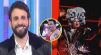 Rodrigo González tras ver a Choca Mandros como drag queen en El artista del año.